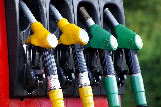 průměrná spotřeba paliva
