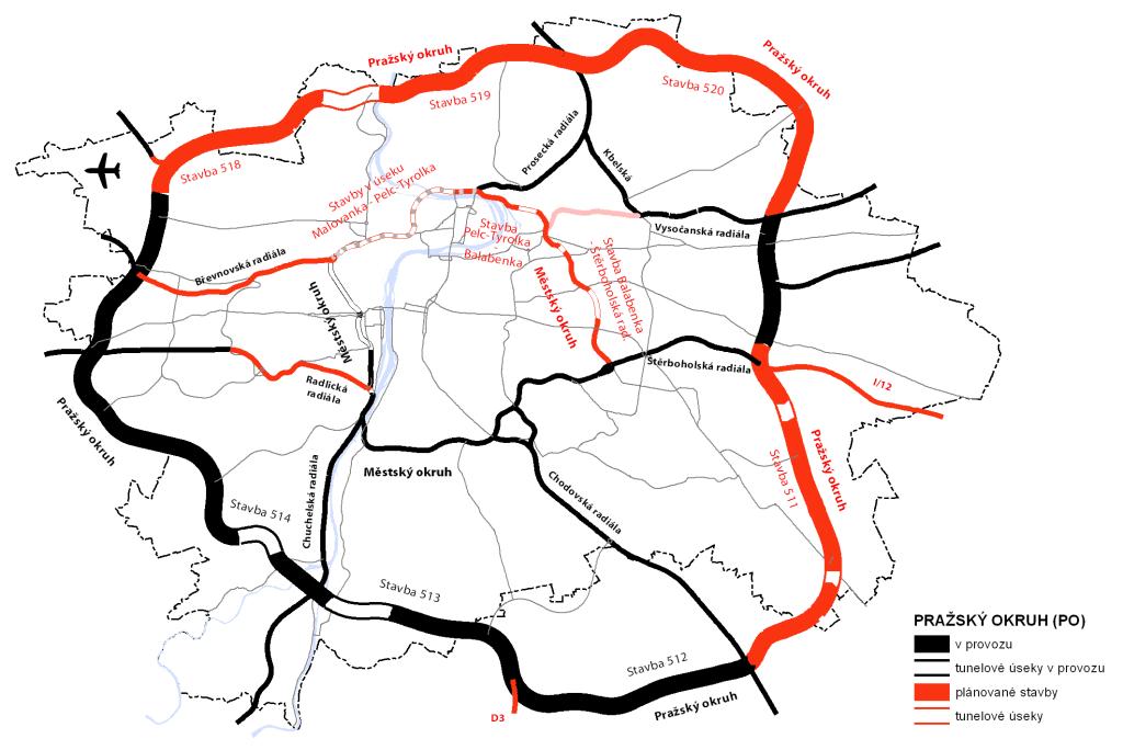 Pražský okruh bez známky