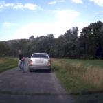VIDEO: Férovka šoférů se šťastným koncem