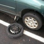 Jednoduchý návod jak vyměnit kolo u auta