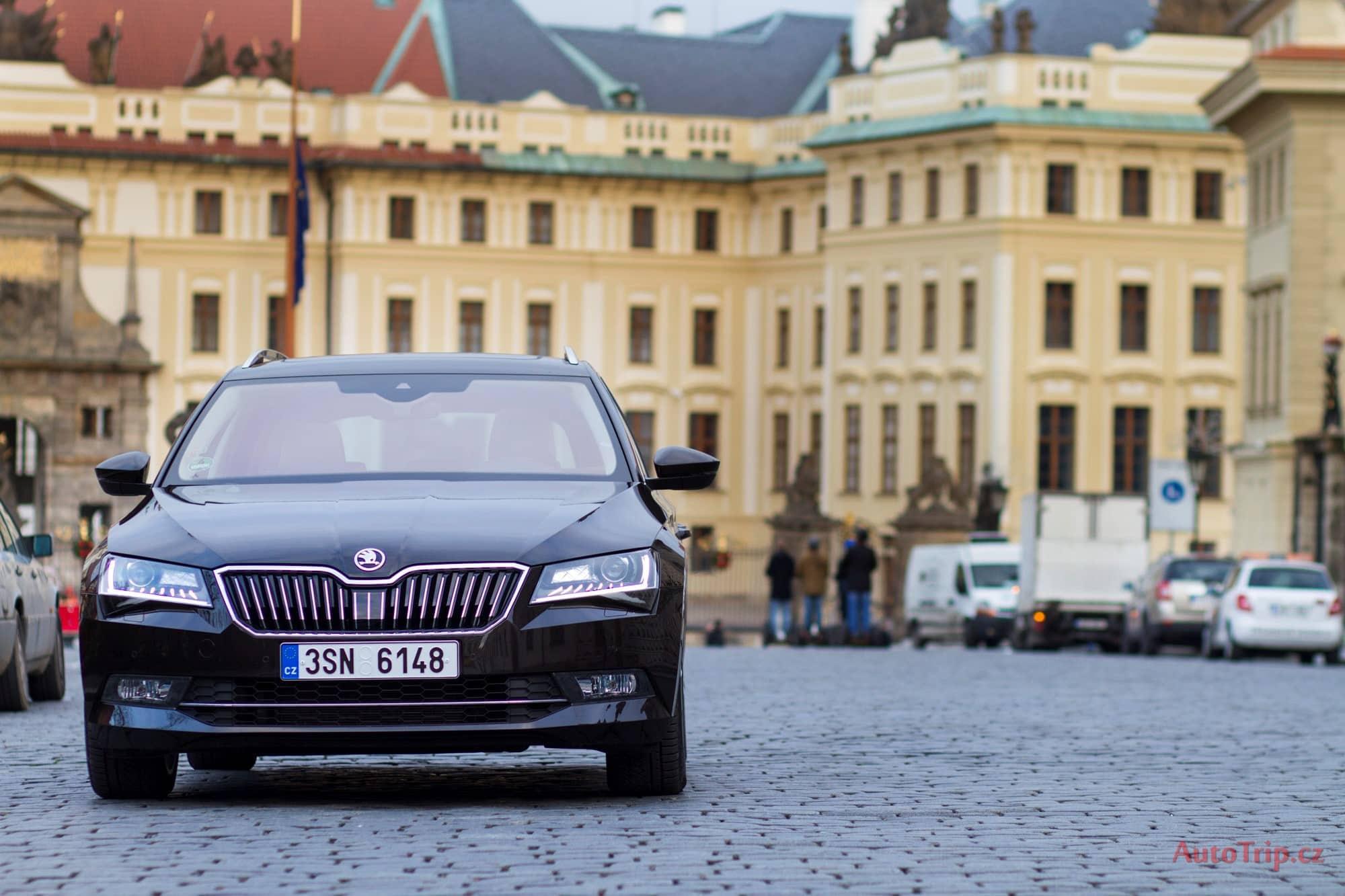Škoda Superb 3 test