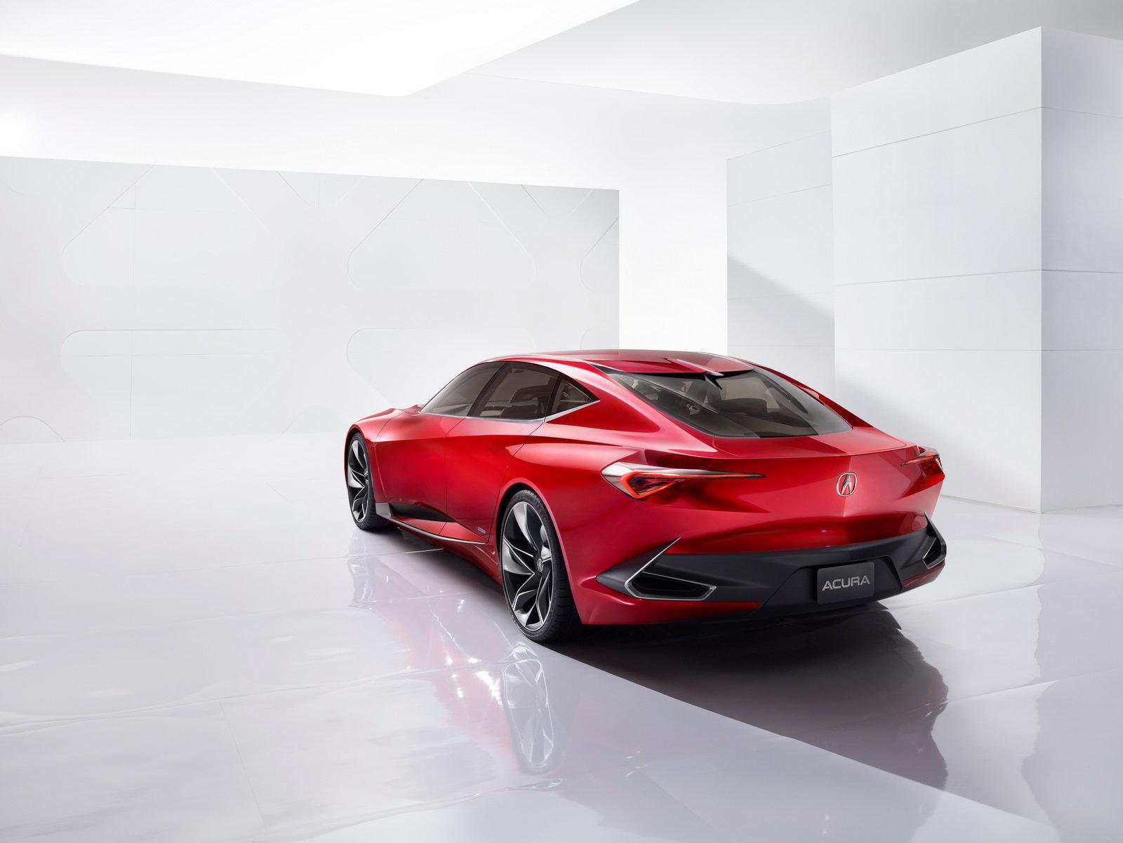 Acura Precision Concept 2016 – Rear 3-4