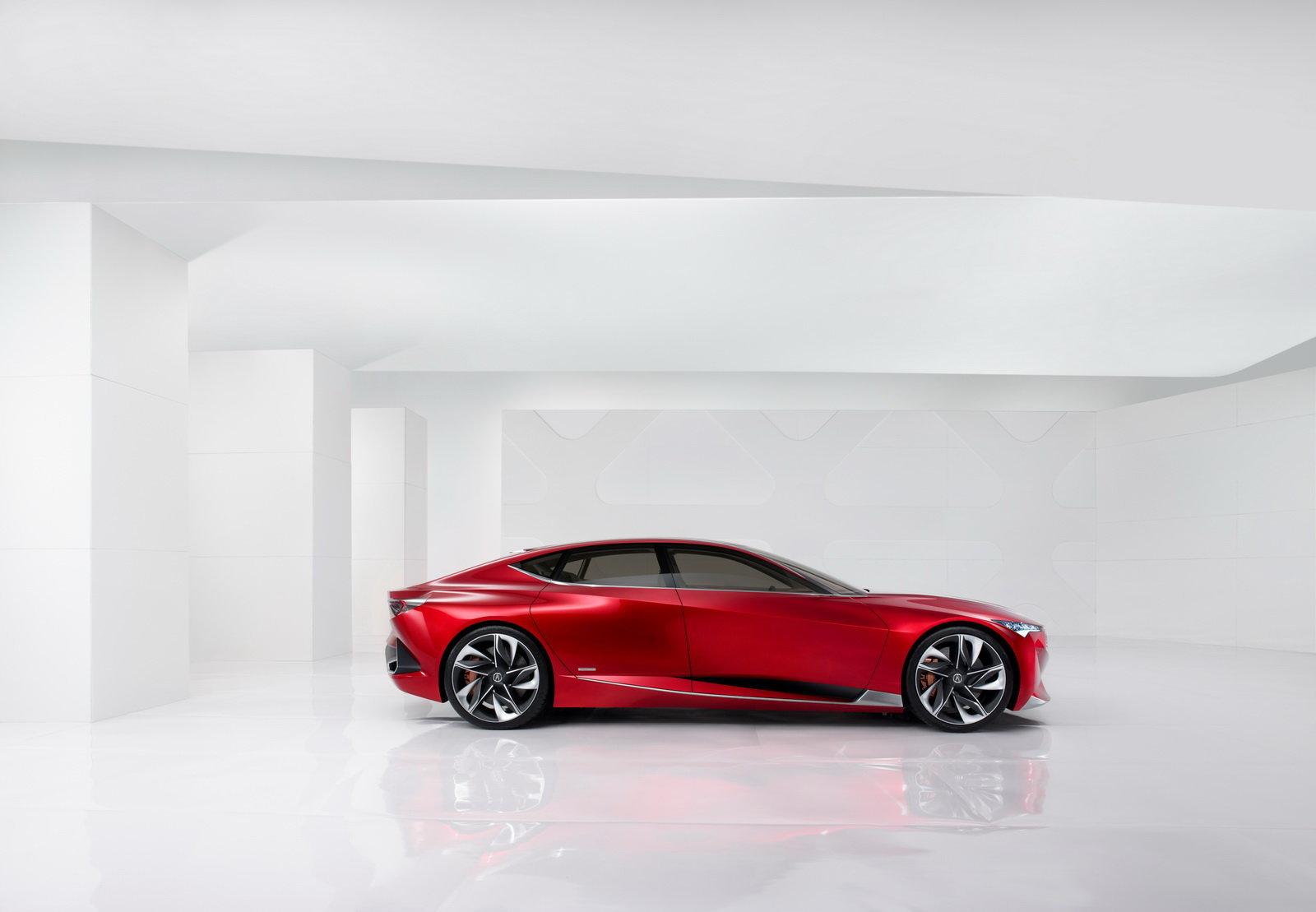 Acura Precison Concept 2016 – Profile