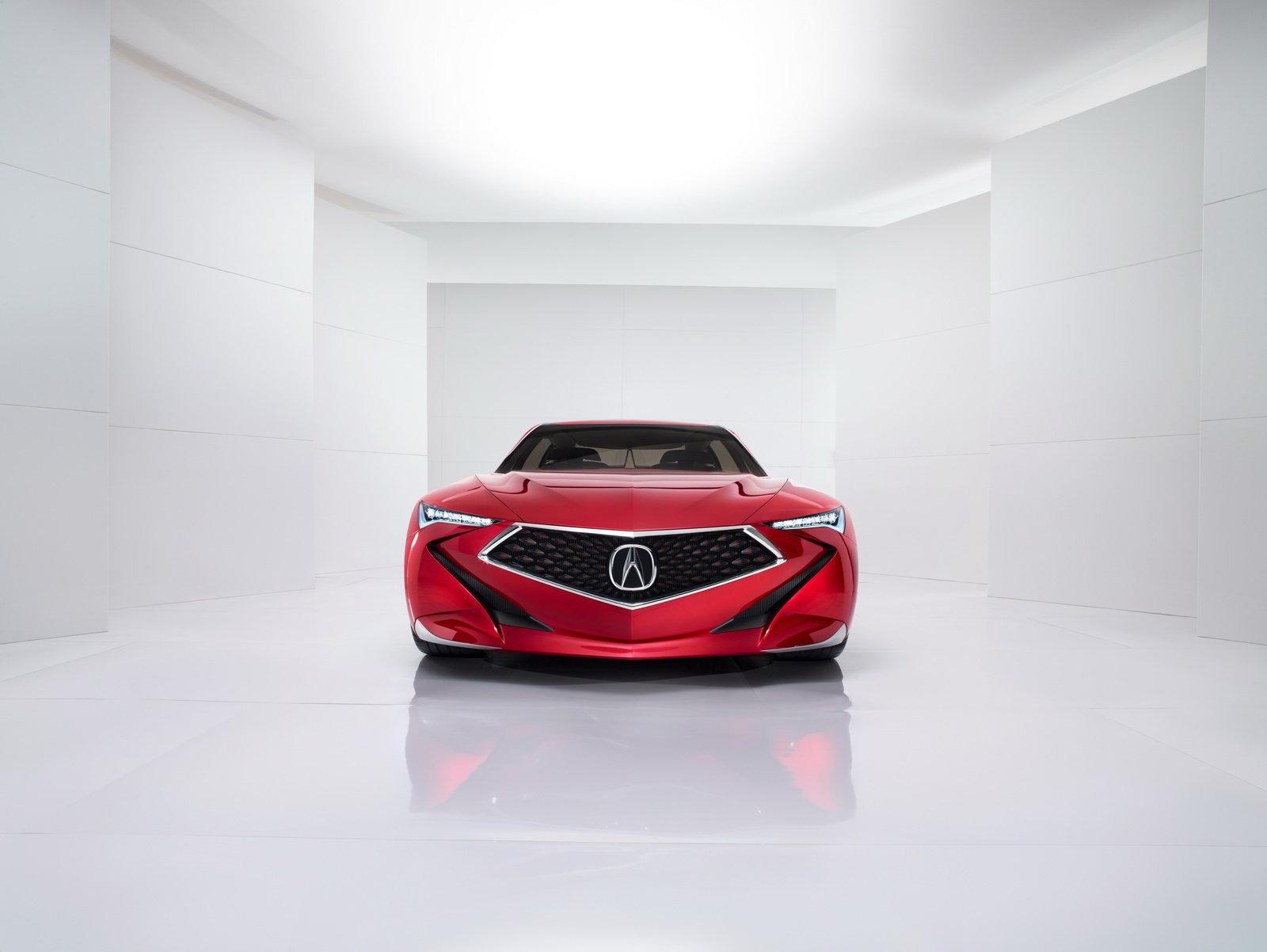 Acura Precision Concept 2016 – Front
