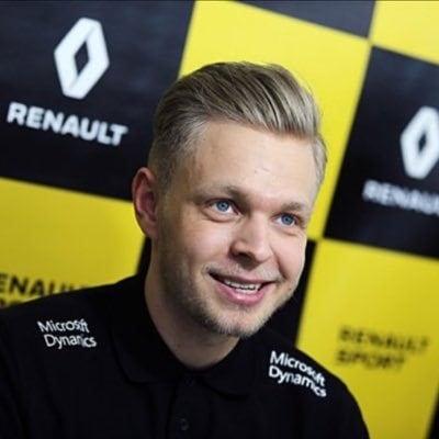 Kevin Magnusen jako člen týmu Renault