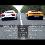 Lamborghini Huracán 610-4 vs Audi R8 V10