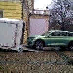Škoda VisionS zachycena v pohybu!