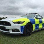 Nový Mustang pro britskou policii
