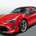 Toyota představuje první tovární tuning GT86