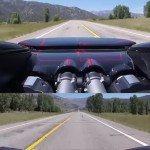 Veyron se rozparádil na 370 km/h na okresní silnici!