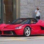 Ferrari Aperta zachycena na prvních záběrech!