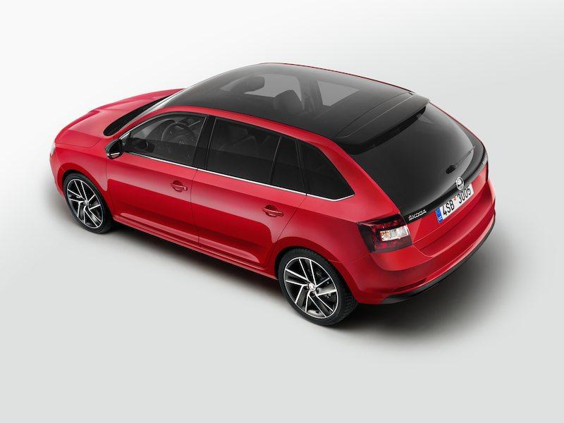 2017 Škoda Rapid Facelif Spaceback back