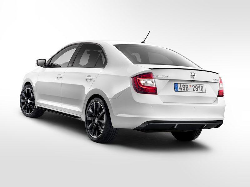 2017 Škoda Rapid Facelif back
