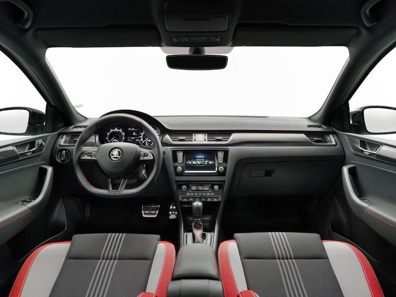 2017 Škoda Rapid Facelif inteirér