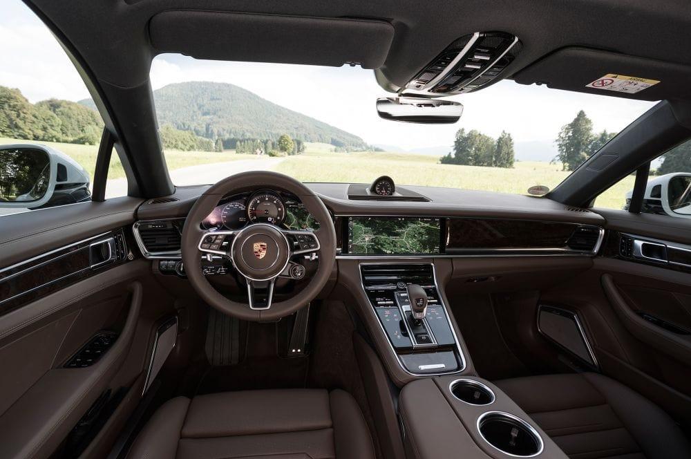 Porsche Panamera - Interiér