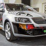 Škoda a začínající výroba Octavia Combi třetí generace Africe