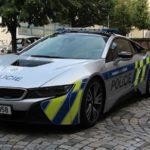 BMW i8 jde zpět do služeb policie