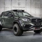Na Mercedes X se podívali v Carlex Design