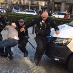Zásah policie v Praze. Oprávněný či brutální?