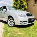 Prodává se Škoda Fabia RS ve stavu nejetého vozu