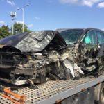 Volvo zachránilo řidiče i čtyřletého syna při vážné nehodě