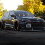 Render: Škoda Karoq ve verzi Vymítač ďábla