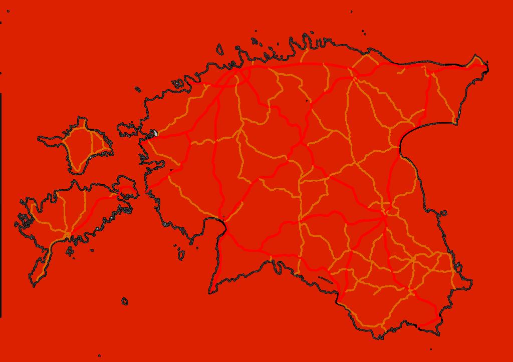 Dálniční síť Estonsko