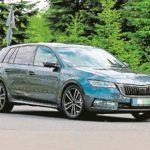 Špionážní fotky! Na silnici byla zachycena nová Škoda Octavia