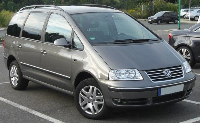 Návod k obsluze pro Volkswagen Sharan