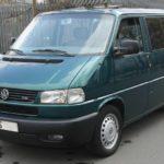 Volkswagen T4 Transporter, Multivan a Caravelle – návod k obsluze