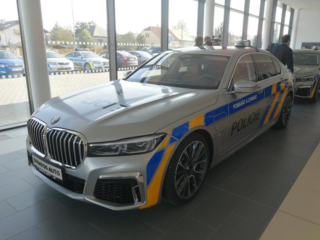 Policie ČR BMW 745Le