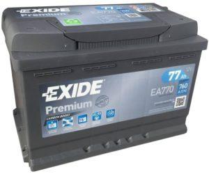 exide premium 77ah
