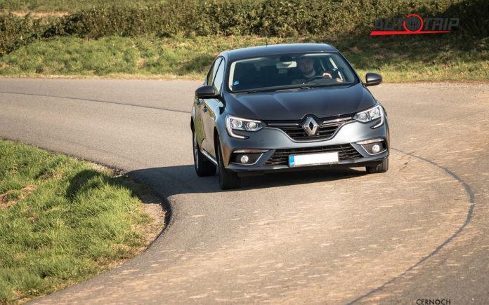 Renault Mégane podvozek